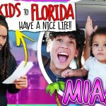 """I *ESCAPED* to FLORIDA WITH THE KIDS"" PRANK on BOYFRIEND!!"